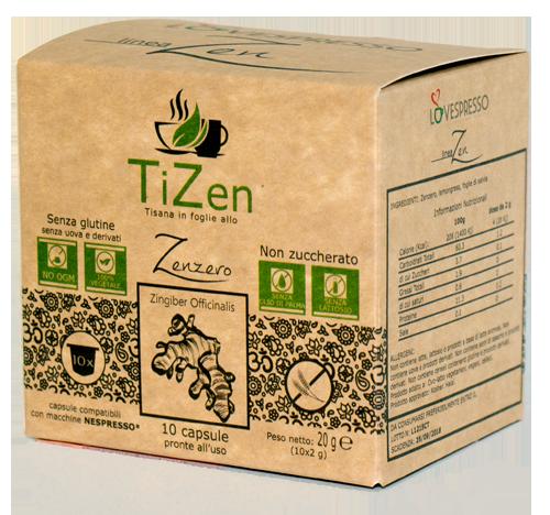 TiZen - 10 Capsule compatibili nespresso